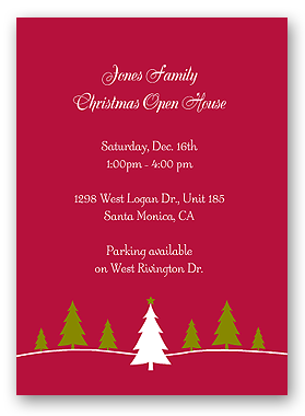 Make Free Printable Christmas Party Invitations & Holiday Invitations